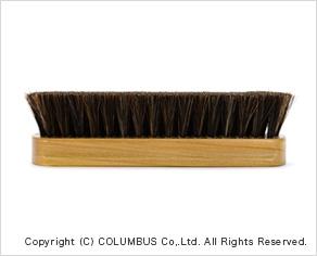 コロンブスブラシ馬毛(ホコリ落とし)ブラッシングイメージ