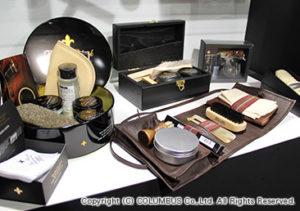 様々なブートブラック商品を展示