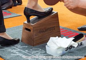 今回から、靴みがき台・マット・エプロンをリニューアルいたしました。