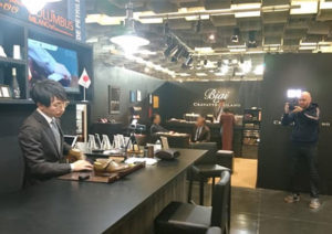 セルビアのテレビ局に取材いただきました